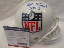 Ed Sabol Autographed NFL Shield Mini Helmet w/HOF Insc. - PSA Cert