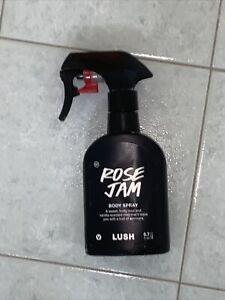 Lush Cosmetics Body Spray in Rose Jam Used
