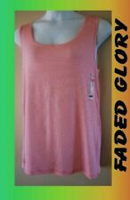 WOMEN'S PLUS SIZE 4X 26W 28W RIBBED STRETCH TANK SUMMER TOPS - CLOTHING NEW