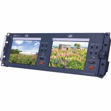 "Datavideo TLM-702 2x7"" SD TFT LCD Monitor, NTSC/PAL, Boxed, Unused"