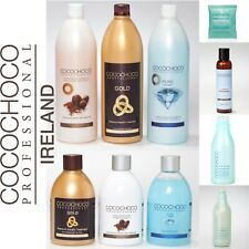 COCOCHOCO KERATIN: ORIGINAL, PURE, GOLD + CLARIFYING SHAMPOO ALL SIZES