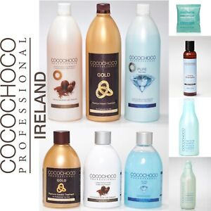 COCOCHOCO KERATIN: ORIGINAL, PURE, GOLD, CLARIFYING SHAMPOO ALL SIZES