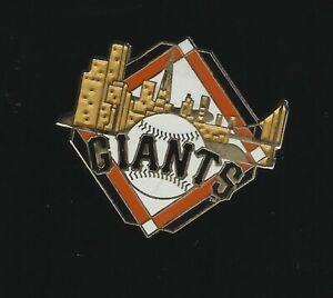 San Francisco Giants SF Skyline Lapel Hat Pin