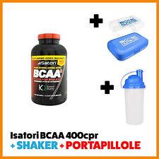 Isatori BCAA 400cpr OFFERTA + SHAKER + PORTAPILLOLE OMAGGIO