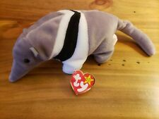 Ty Beanie Babies - Ants The Anteater - with Tag Retired Dob Nov. 7, 1997