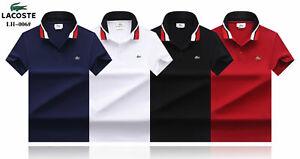 Lacoste0 Polo Shirt Herren Freizeit T-Shirt Polohemd  S-XXXL NEU