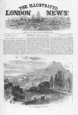 1870 FRANCO GERMAN WAR - View of Forbach French Frontier town (066)