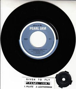 "PEARL JAM  Given To Fly 7"" 45 EP vinyl record NEW RARE! + juke box title strip"