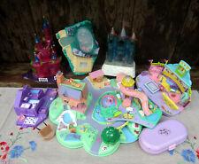 Polly Pocket lot set Disney Cendrillon etc