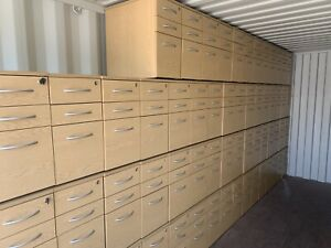 Slimline Drawer Units Home /Office (21 In Stock) Unlockable To Clear £29 Each