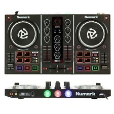 NUMARK PARTY MIX controller midi usb 2 canali + interfaccia audio + effetti luce