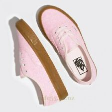 Vans Authentic Ice Cream Glitter Pink Gum Shoes Womens 9.5 Canvas Sk8