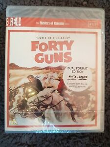 FORTY GUNS new and sealed blu-ray disc + dvd