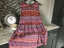 LADIES TOP SHOP CASUAL DRESS SIZE UK 14