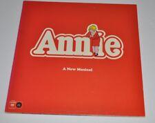 ANNIE A New Musical LP Record Columbia