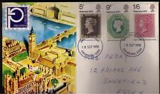 STAMPS. ROYAL MAIL FDC – PHILYMPIA [Official cover] – 18th Sept 1970