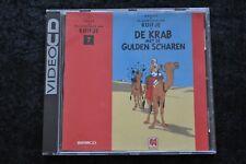 Kuifje de Krab Met De Gulden Scharen Video CD CD-I