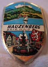 Hauzenberg used badge mount stocknagel hiking medallion G5467