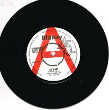JOHNNY KIDD - SO WHAT b/w DEAN SHANNON - UBANGI STOMP (50s British R'n'R Jivers)