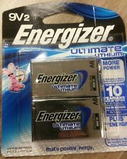 Energizer Ultimate Lithium Batteries, 9V, 2/Pack - Lithium Batteries