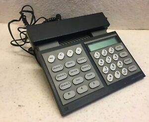 Bang Olufsen Beocom 2100 Black and Grey B&O Vintage Corded Desk Phone Danish