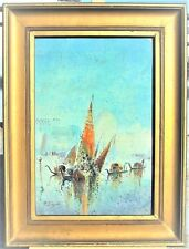 """AFTER PAUL SIGNAC """"VENICE"""" WATERCOLOR & GΟUACHE ON PAPER SIGNED"""