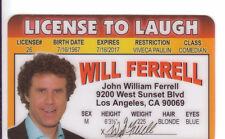 Anchorman Tv Reporter Ron Burgundy Will Ferrell Los Angeles Ca Drivers License