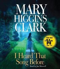 I Heard That Song Before [Audio] by Mary Higgins Clark.