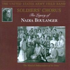 US ARMY FIELD BAND The Legacy of Nadia Boulanger (CD, Nov-2011, Altissimo) NEW