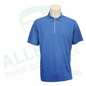 "CLIQUE (Cutter & Buck) Polo ""Berkeley"" aus Pima Cotton blau XL (52/54) neu OVP"