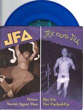 JFA / Jack Killed Jill - Split - 7 Inch BLUE Vinyl Record NEW PUNK