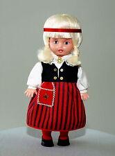 1970 Ussr Soviet Estonian Souvenir Salvo Folk Blonde Doll