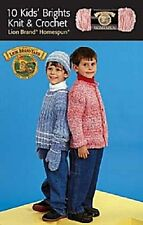 10 Kids' Brights Knit & Crochet