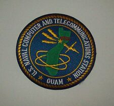 US NAVAL COMPUTER AND TELECOMMUNICATIONS STATION * GUAM *  - NTCS MILITARY PATCH
