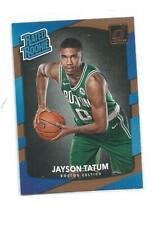 Jayson Tatum 2017-18 Panini Donruss Rated Rookie RC Boston Celtics