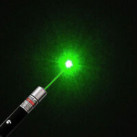 High Power Green Laser Beam Pointer Pen 5 mw 532nm Burning Match Visible Beam #h