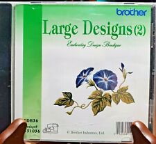 New ListingBrother Machine Embroidery Card Edb36 - Large Designs (2)