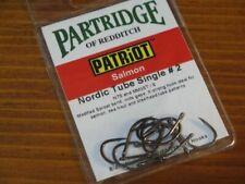 """PARTRIDGE  15BN  /"""" Klinkhamer #8 /""""  Straight-Eye  Qty 25   Fly Tying Hooks"""