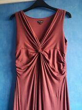 Phase Eight Terracotta Sleeveless Maxi Long Dress Size 12