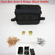 Car Auto Socket Fuse Black Box Relay Holder 6 Relay 5 Road The Nacelle Insurance