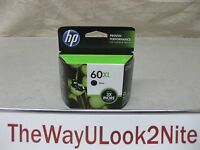 HP 60XL Black Ink Cartridge CC641WN Genuine New CC641W Mint Box Date: 2013