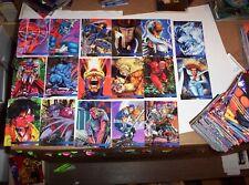 1995 FLAIR MARVEL ANNUAL 150 BASE CARD SET SPIDER-MAN DEADPOOL AVENGERS! VENOM!