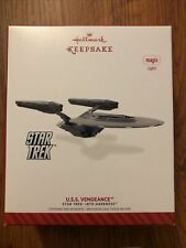 Hallmark Star Trek 2014 USS U.S.S. Vengeance Keepsake Ornament New Unused