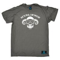 Scuba Demon Diver T-SHIRT Diving Dive Gear Equipment Tee Funny birthday gift