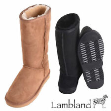 Slip on Suede Mid-Calf Women's Boots