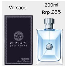 VERSACE Pour Homme 200ml EaU De Toilette Spray Brand New Retail Sealed Men s 5da9e39dd90