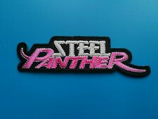 Steel Panther Patch Punk Rock Music Festival Sew or Iron On Badge