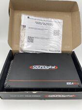 Soundigital 800.4s EVO Series 800w 4-channel AMPLIFIER 2-OHM