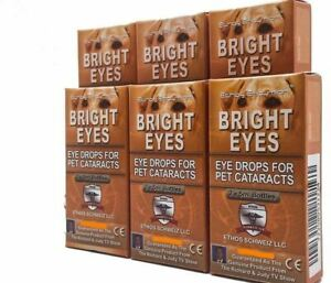 Ethos Eye Drops for Dogs with Cataracts 6 x Boxes 60ml