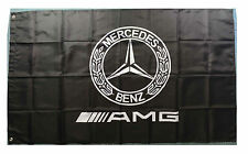 Racing AMG car banner flags 3X5 Ft for Black Mercedes Benz AMG Flag